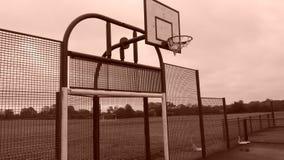 Parco abbandonato del gioco Fotografie Stock