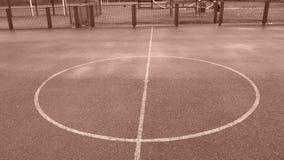 Parco abbandonato del gioco immagini stock libere da diritti