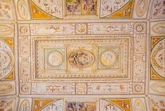 PARCO ADRIANO, ROMA, ITALIA: 11 DE OCTUBRE DE 2017: La biblioteca Ceili Fotografía de archivo libre de regalías
