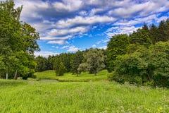 Parco antico nella periferia Fotografia Stock