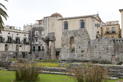 Parco Archeologico. Neapolis in Syracuse, Sicily, Italy Stock Photos