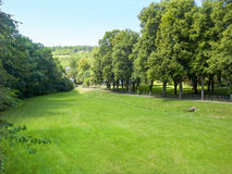Parco a Bad Mergentheim Fotografia Stock Libera da Diritti