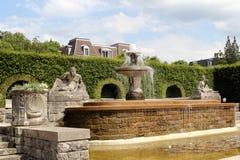Parco in Baden-Baden, Germania Immagine Stock