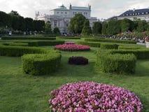 Parco bello a Vienna Austria Fotografia Stock Libera da Diritti