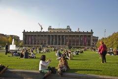 Parco a Berlino Fotografia Stock Libera da Diritti