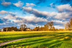 Parco britannico fotografie stock