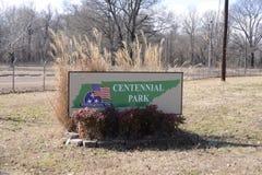 Parco centennale, Millington, Tennessee fotografia stock