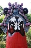 Parco cinese del timo di mostra Fotografia Stock
