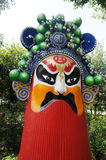 Parco cinese del timo di mostra Immagini Stock Libere da Diritti