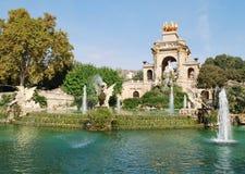 Parco Ciutadella a Barcellona fotografia stock