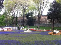 Parco a Costantinopoli Immagini Stock