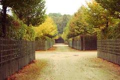 Parco d'annata, Versailles, Francia Immagine Stock Libera da Diritti