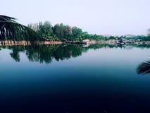 Parco d'argento di jubliee con i lotti di greenary Fotografie Stock