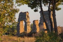 Parco degli Acquedotti,罗马,意大利 免版税库存图片