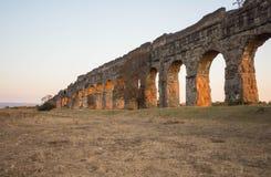 Parco degli Acquedotti, Rzym, Włochy Fotografia Stock