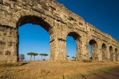 Parco degli Acquedotti, Rzym, Włochy Zdjęcia Stock