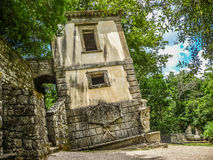 Parco dei Mostri (Park of the Monsters) in Bomarzo, province of Viterbo, northern Lazio, Italy Royalty Free Stock Image