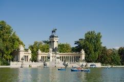 Parco del Buon Retiro Μαδρίτη Στοκ Εικόνες