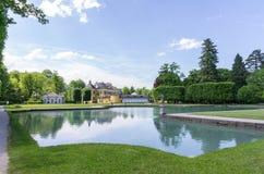 Parco del castello di Hellbrunn Salisburgo, Austria Fotografia Stock Libera da Diritti