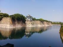 Parco del castello di Osaka fotografie stock libere da diritti