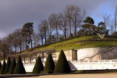 Parco del castello Saint-Cloud - in Francia Immagine Stock Libera da Diritti