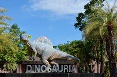 Parco del dinosauro Immagini Stock Libere da Diritti