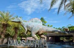 Parco del dinosauro Immagine Stock Libera da Diritti