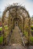 Parco del fiore di Keukenhof nei Paesi Bassi Elementi di progettazione del parco Immagine Stock Libera da Diritti