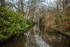 Parco del fiore di Keukenhof nei Paesi Bassi Elementi di progettazione del parco Fotografie Stock