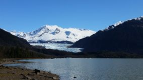 Parco del ghiacciaio di Mendenhall immagini stock