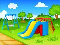 Parco del gioco per i bambini Immagini Stock
