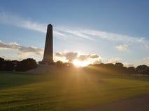 Parco del monumento di Dublino Fotografia Stock Libera da Diritti