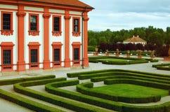 Parco del palazzo Immagine Stock