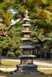 Parco del palazzo di Changgyeonggung, Seoul, Corea del Sud. Fotografia Stock