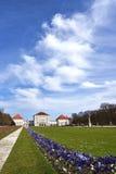 Parco del palazzo di Nymphenburg, Monaco di Baviera Fotografia Stock Libera da Diritti
