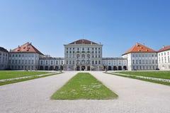 Parco del palazzo di Nymphenburg, Monaco di Baviera Immagini Stock Libere da Diritti