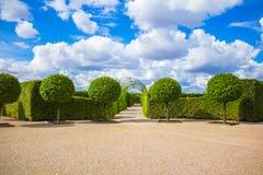 Parco del palazzo di Rundale Immagini Stock