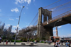 Parco 1 del ponte di Brooklyn Fotografia Stock