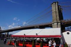 Parco 3 del ponte di Brooklyn Fotografia Stock Libera da Diritti