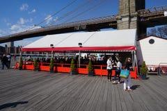 Parco 6 del ponte di Brooklyn Immagine Stock Libera da Diritti