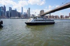 Parco 8 del ponte di Brooklyn Fotografia Stock