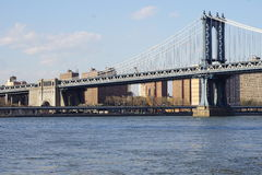Parco 17 del ponte di Brooklyn Immagini Stock