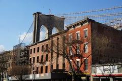 Parco 20 del ponte di Brooklyn Fotografia Stock Libera da Diritti