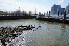 Parco 23 del ponte di Brooklyn Immagine Stock
