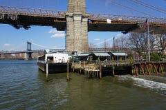 Parco 24 del ponte di Brooklyn Fotografie Stock Libere da Diritti