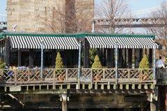 Parco 25 del ponte di Brooklyn Immagini Stock