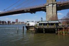 Parco 29 del ponte di Brooklyn Fotografia Stock Libera da Diritti
