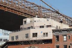 Parco 33 del ponte di Brooklyn Fotografia Stock Libera da Diritti