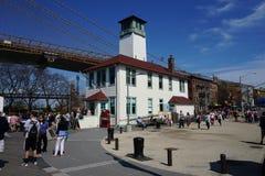 Parco 40 del ponte di Brooklyn Fotografie Stock