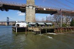 Parco 42 del ponte di Brooklyn Fotografia Stock